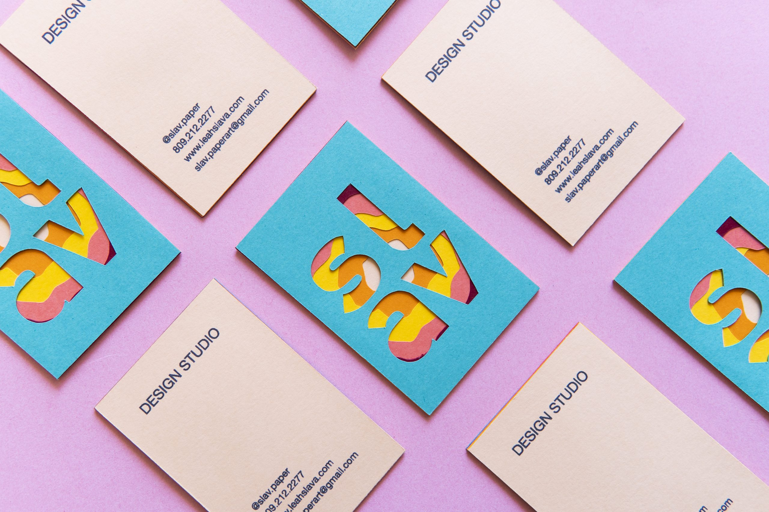 Slav Design Studio Business Card