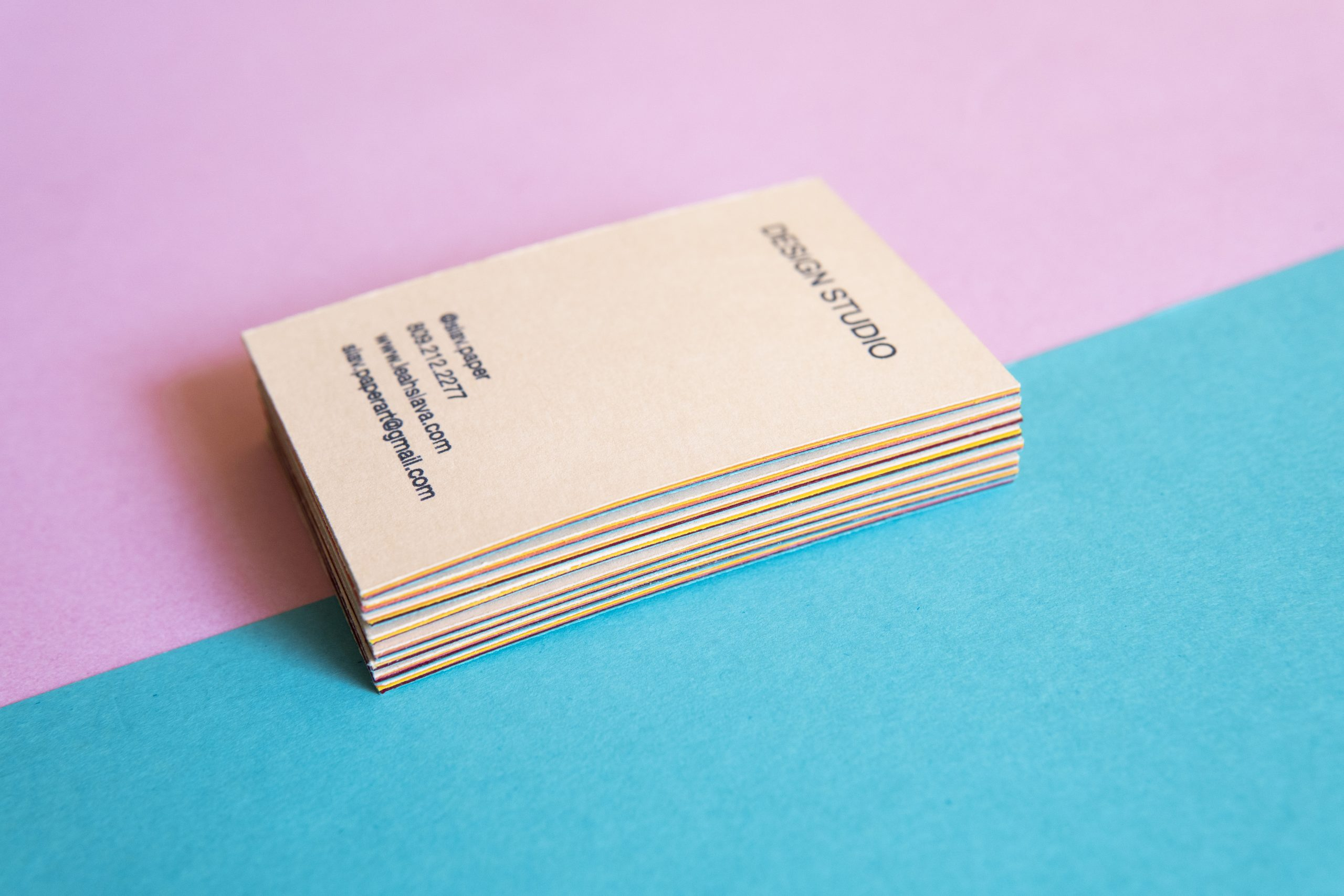 Slav Design Studio business card_4