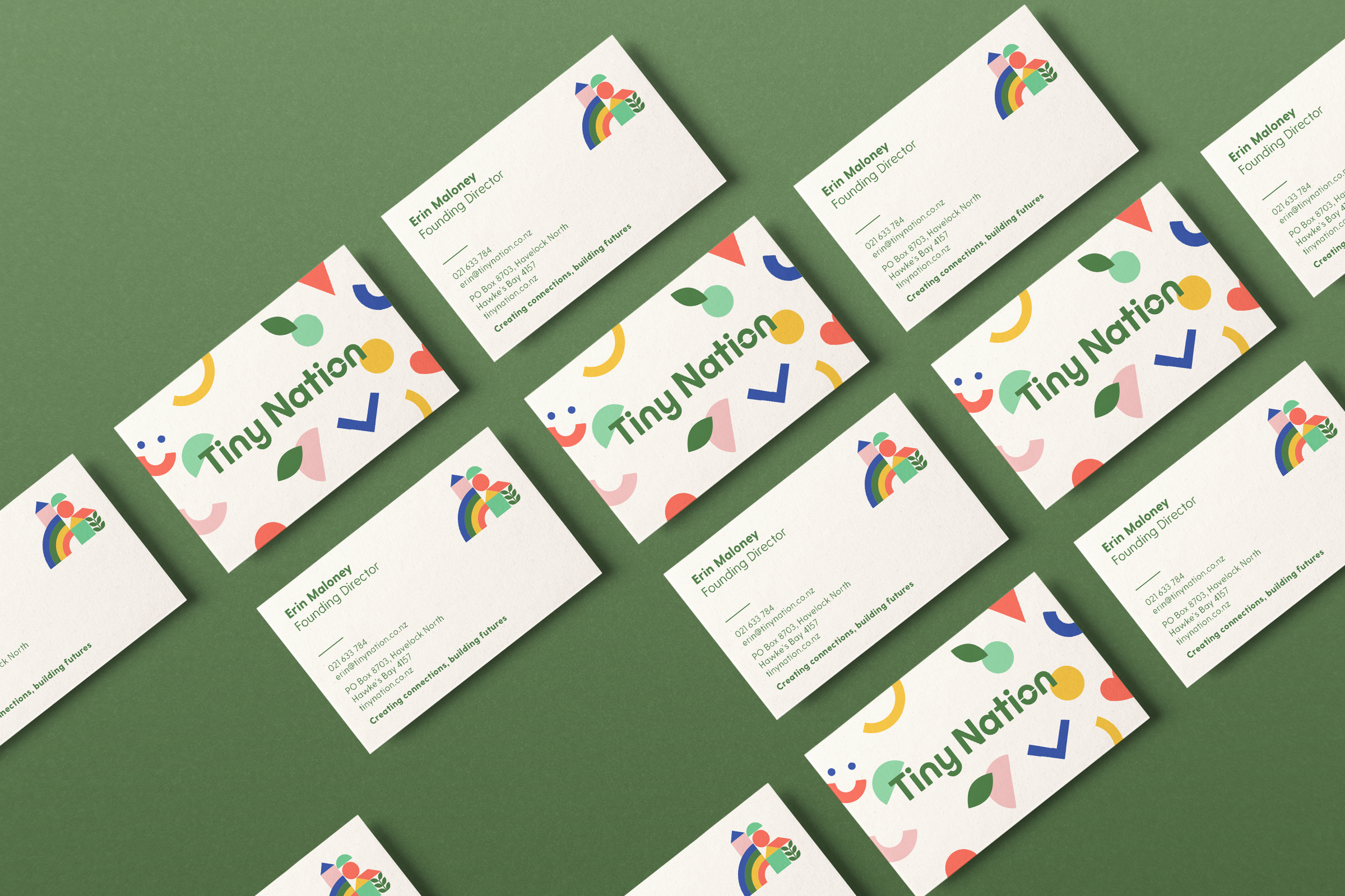 Tiny Nation Business cards
