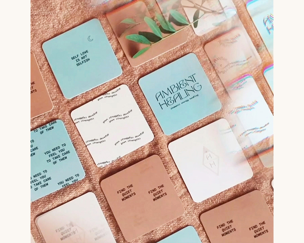 Ambient Healing business cards