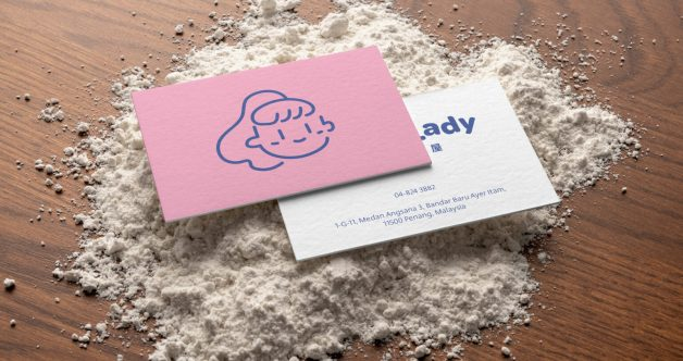 Bread Lady business cards