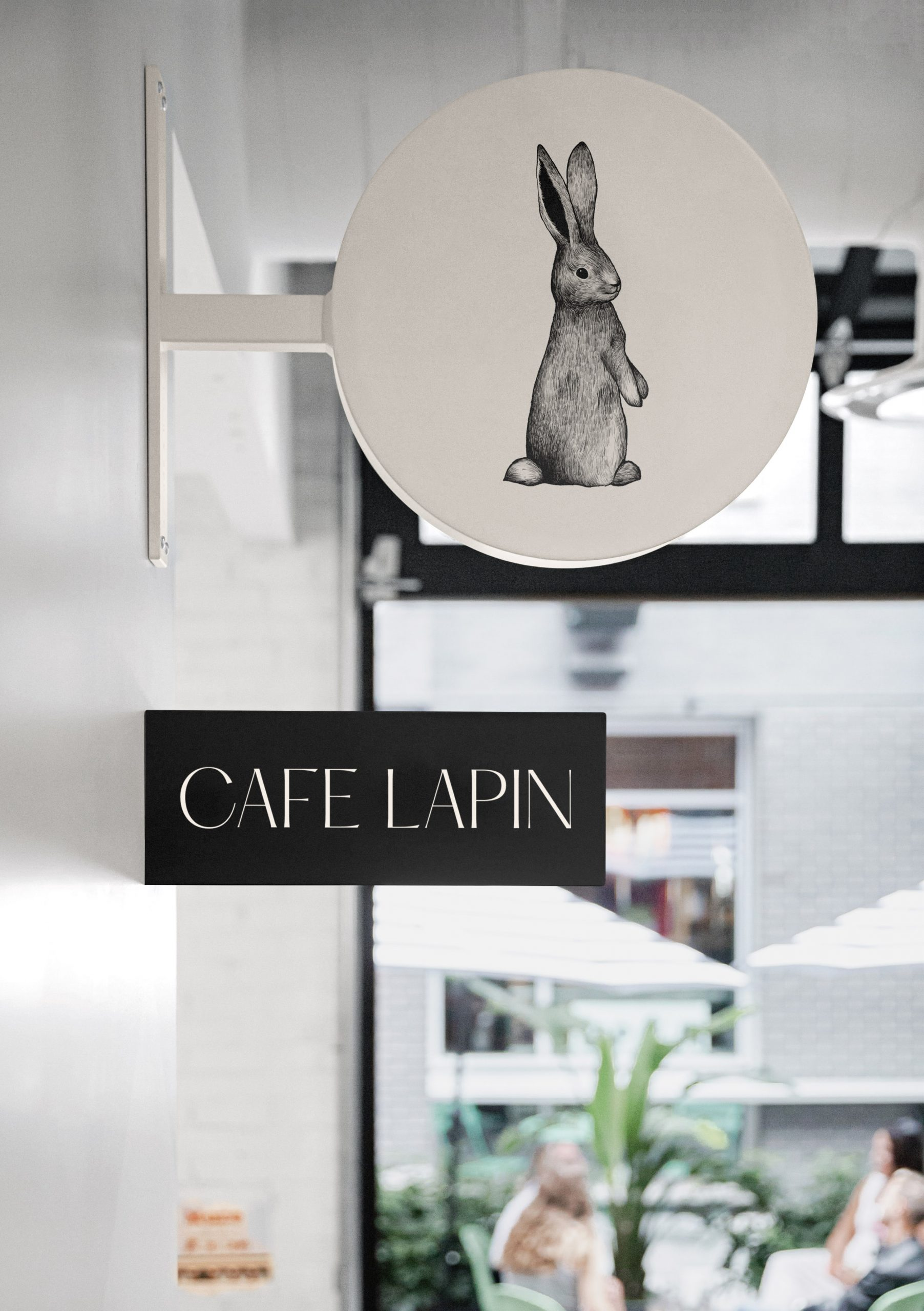 Cafe Lapin_Signs