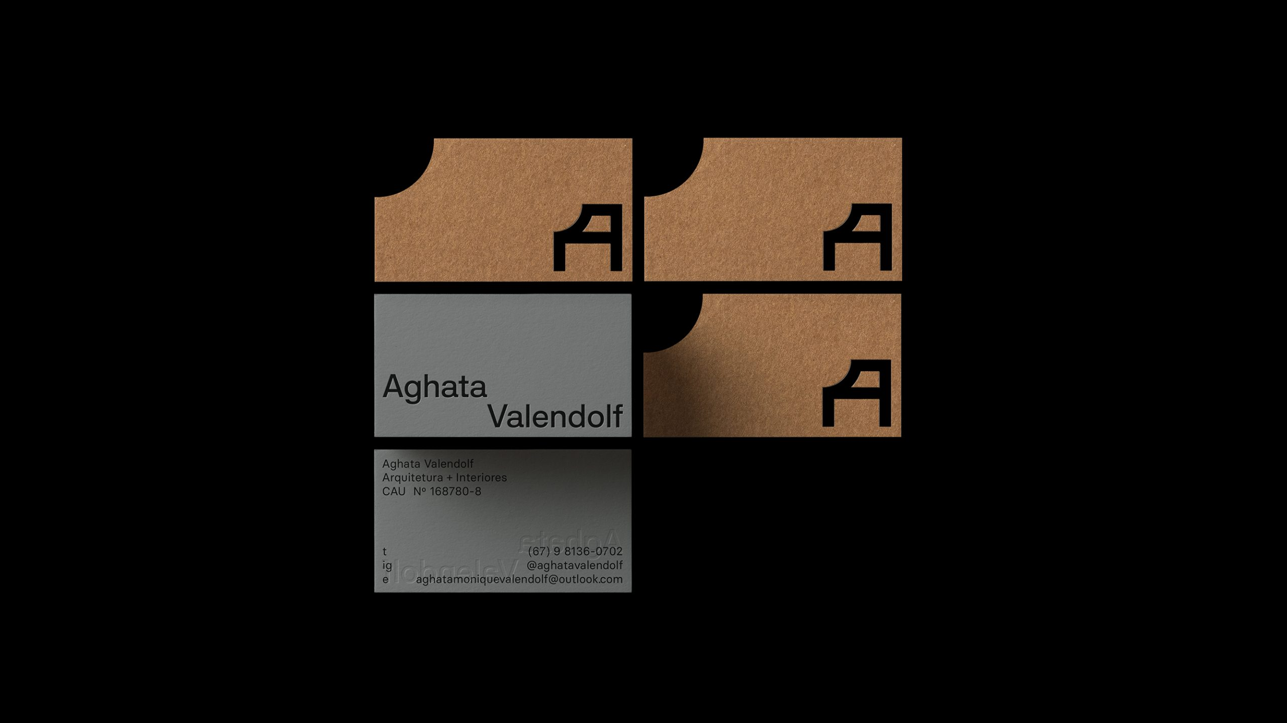 Aghata Valendolf business cards