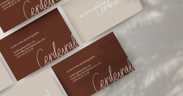 Alexandra Cerdeiral business card