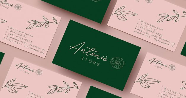 Antoniê Store business cards