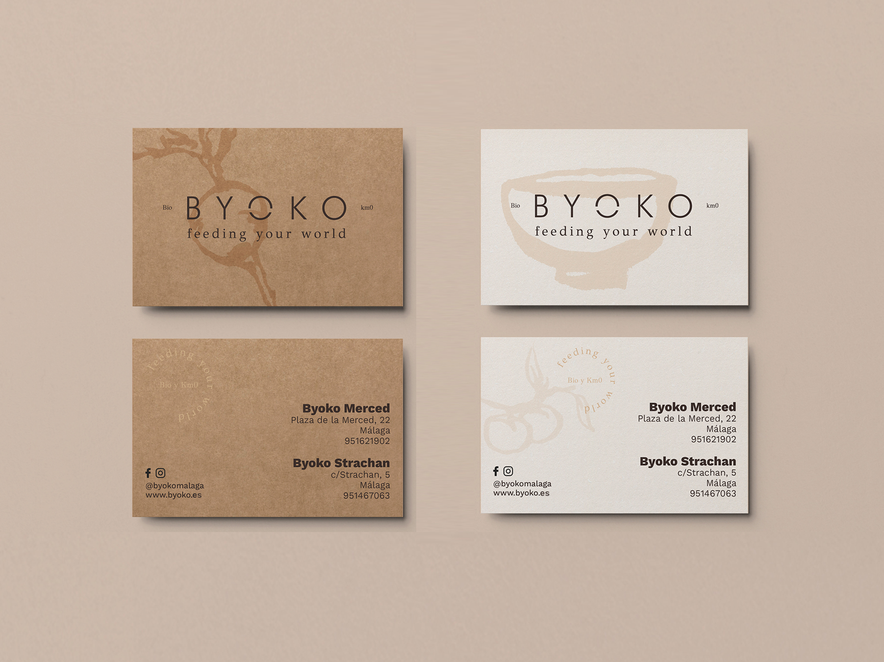 Byoko business card