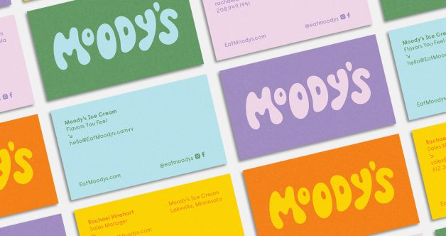 Moodys business cards