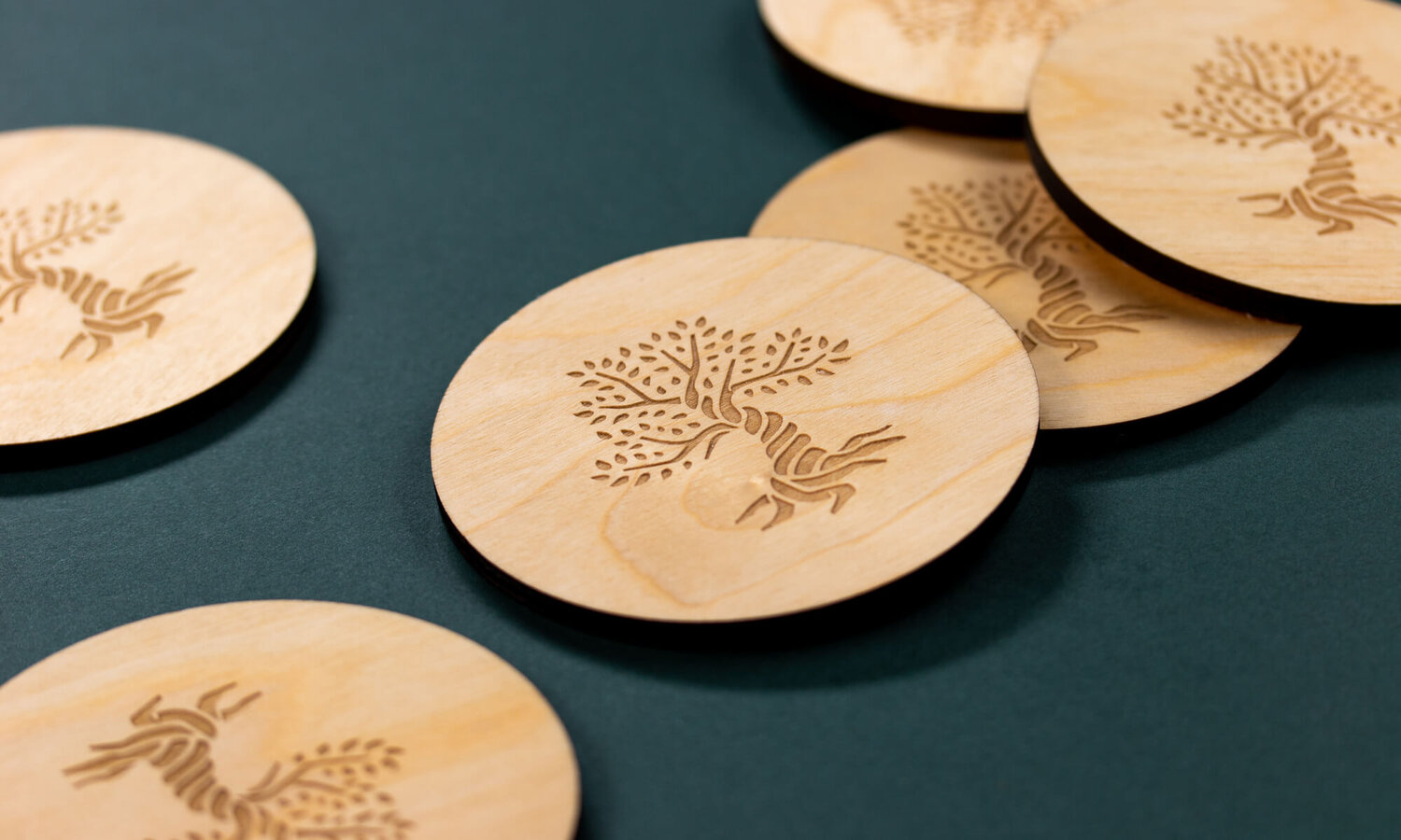 Rooted Coasters