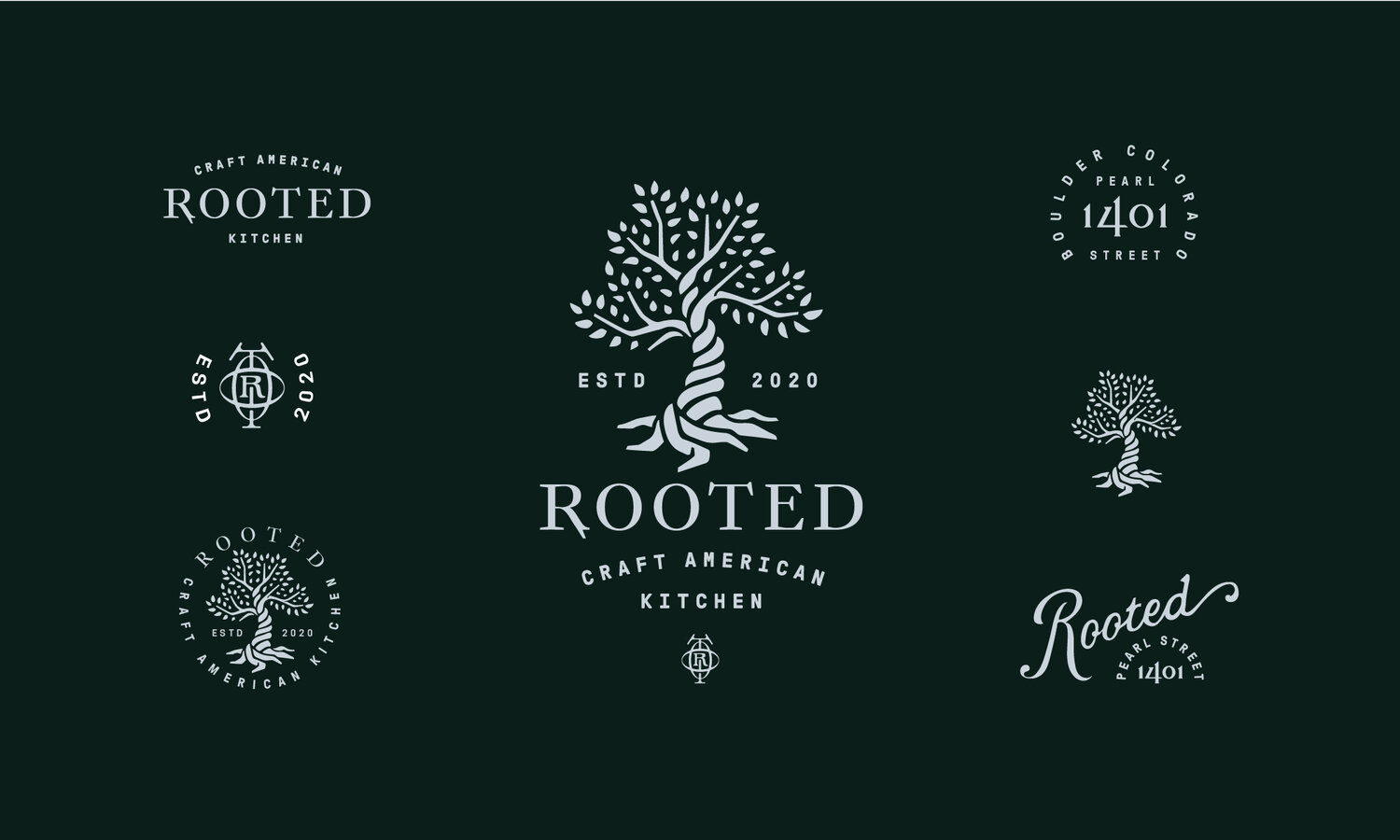 Rooted logos