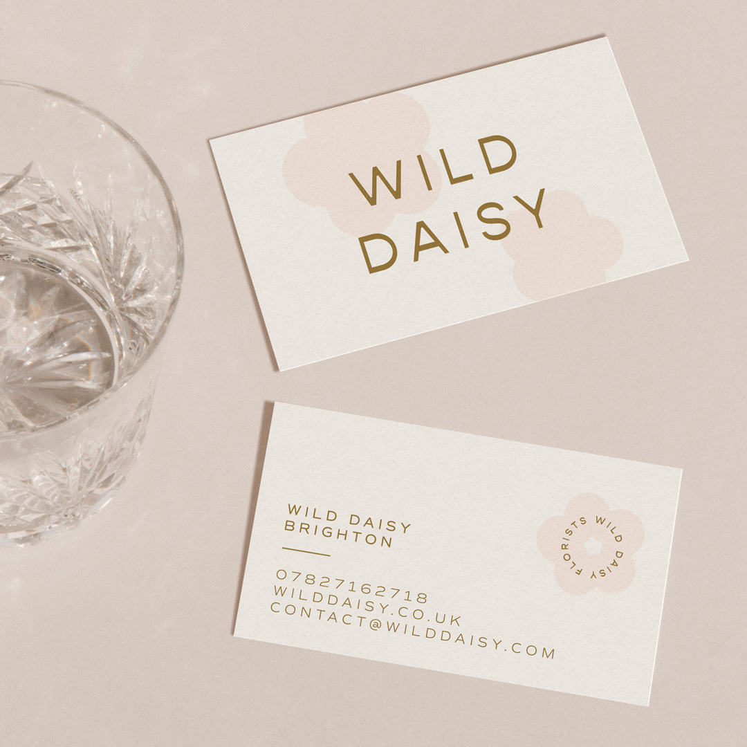 Wild Daisy business card