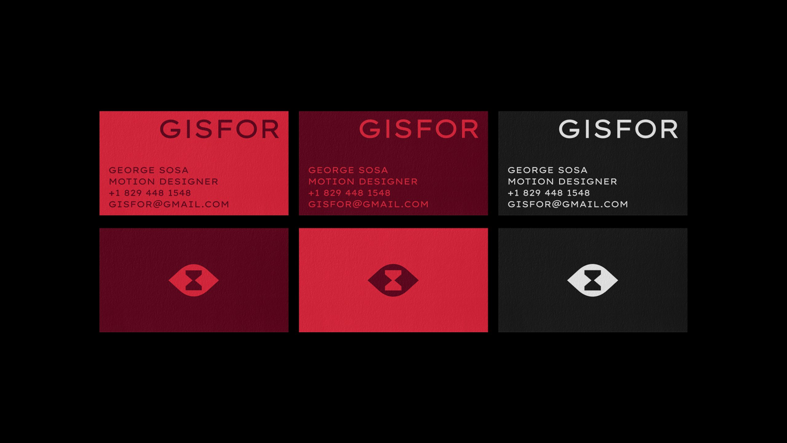 Gisfor business cards
