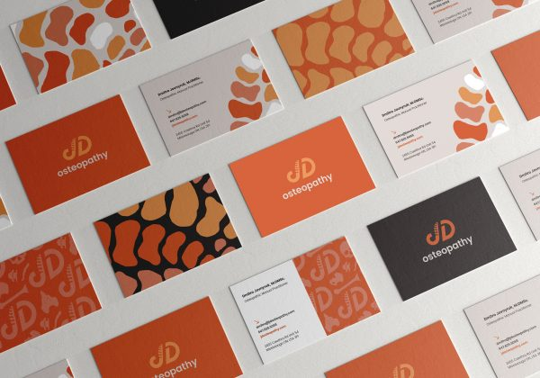 JD Osteopathy Business Card