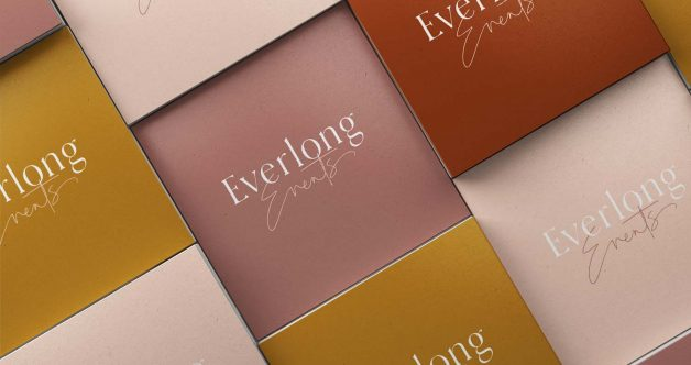 Everlong Events business cards