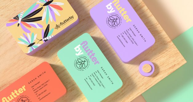 Flutterby business cards