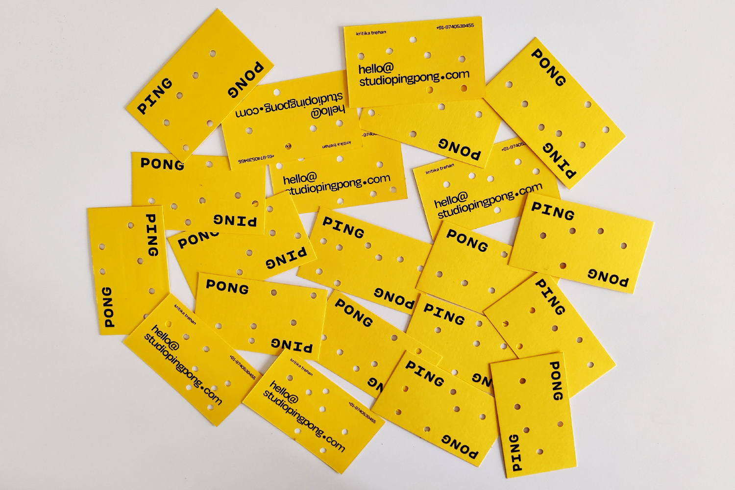 Ping Pong business cards2