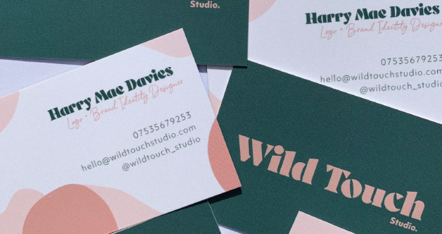 Wild Touch Studio business cards2